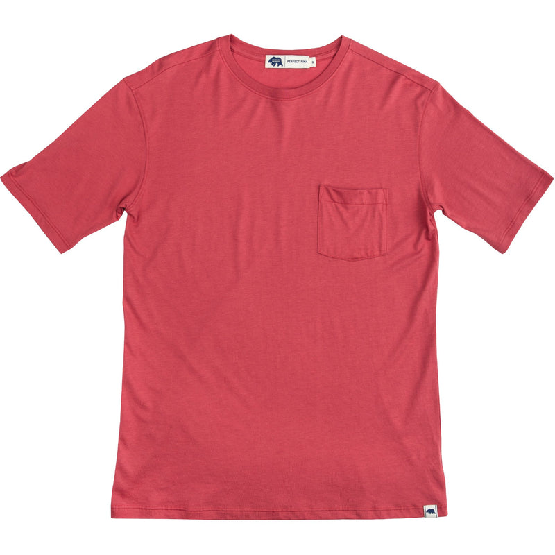 PERFECT PIMA TEE RED