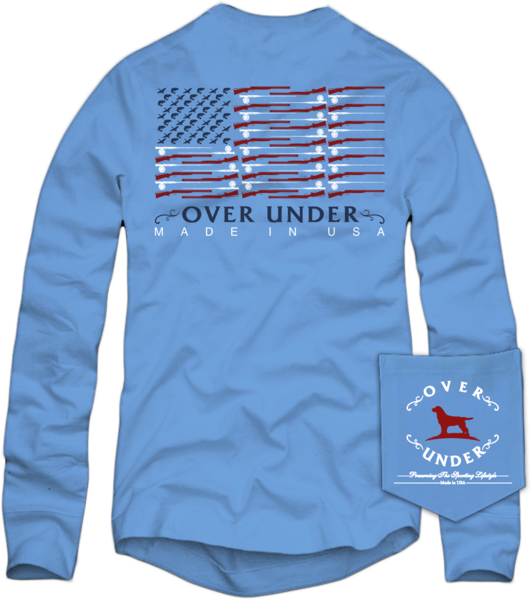 Shotgun Flag Long Sleeve Tee