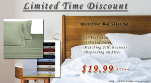 Luxury Sheet Set-Limit Time Discount