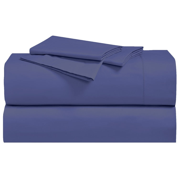 Breathable 300 Thread Count 100 Cotton Percale Bedding