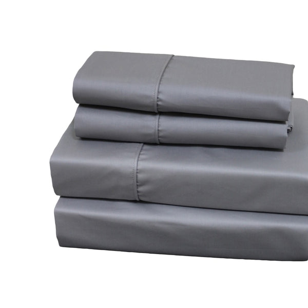 Wrinkle-Free 650Tc 70% Cotton-30% Polyester Pillowcases (Pair); Includes (2) Standard or King Pillowcases