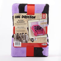 1D One Direction Plush Twin Throw Blanket 62x90 Niall, Zayn, Liam, Harry, Louis