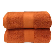 600 GSM Plush 100 Percent Plush Cotton 2 Piece Bath Sheet Set