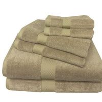 Ultra Soft 6 Piece Silky Bamboo Towel Set, Softest Towels You Can Own