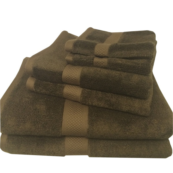 Ultra Soft 6 Piece Silky Bamboo Towel Set Softest Towels
