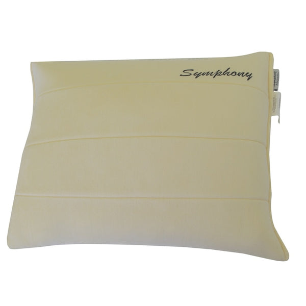 All Season Symphony Shredded Memory Foam Pillow; Luxury Velvet cover (Single)