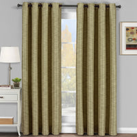 Vibrant Galleria Room Darkening Thermal Curtain Panels Tonal Stripe (Single)