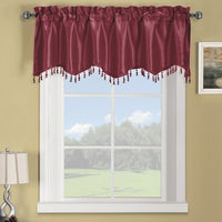 "Soho Straight Decorative Trim Window Valance 70""W x 17""L (Single)"