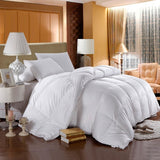 500 Thread Count 100% Cotton White Duck Down Comforter-550 Fill Power Extra Warmth Duvet Insert