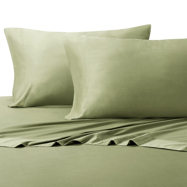 300 Thread Count 100% Eucalyptus Tencel Solid Pillowcases (Pair); Includes (2) Standard or King Pillowcases