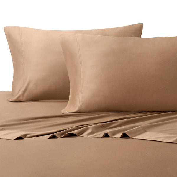 Delightful Hypoallergenic 300TC 100% Bamboo Viscose Solid Bedding; Adjustable Bed  Sheet Sets; Includes Flat