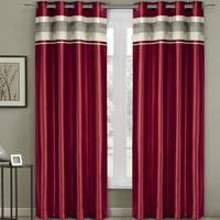 Sophisticated Milan Room Darkening Polyester Curtain Panel with Grommets (Single)