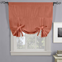 Soho Triple-Pass Thermal Insulated Blackout Curtain Panel Rod Pocket - Tie Up Shade