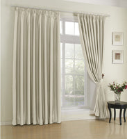 Royal Velvet Pinch Pleated Blackout Curtain Panels (Set of 2)