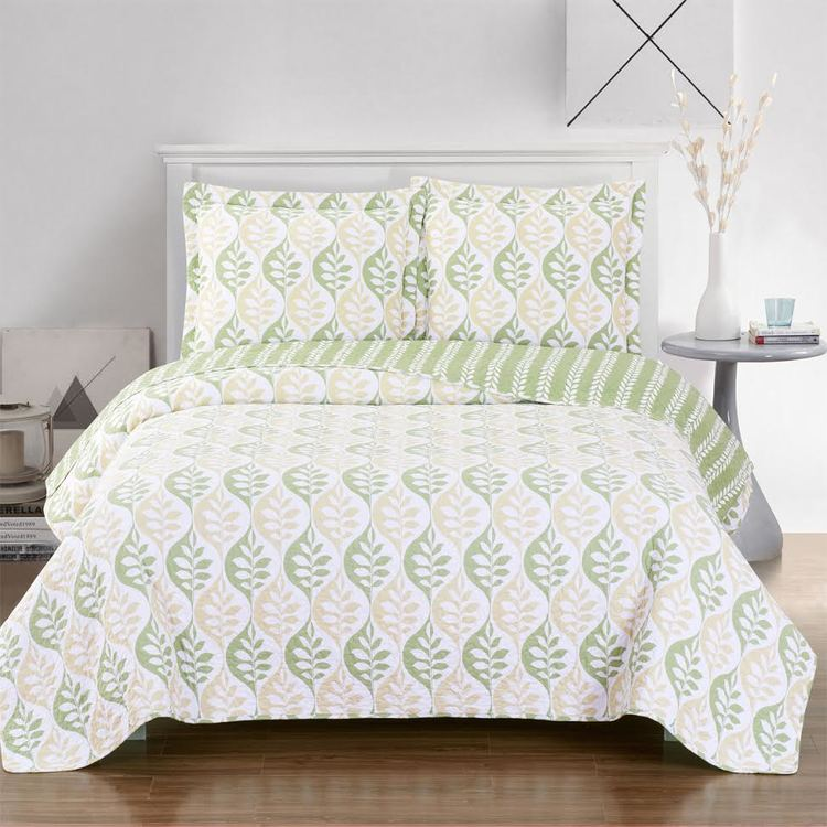 Split King Elegant And Contemporary Gia Quilt Coverlet