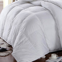 Hungarian 300 Thread Count 100% Cotton White Down Alternative Comforter-Extra Warmth Duvet Insert