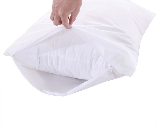 Waterproof Pillow Protector 3M Stain Release And TPU Laminated (Pair)