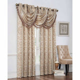 Verano Grommet Top Panel and Waterfall Valance