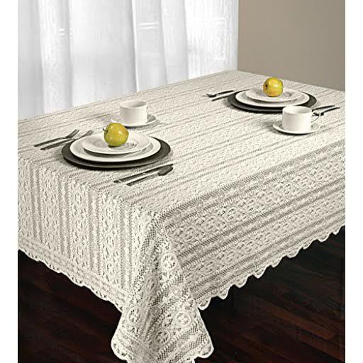 Arbor Lace Tablecloth (Available in 2 different colors)