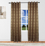 Elegance Best Home Drapes Top Grommet Lined Panel Pair (Available in 3 different colors)
