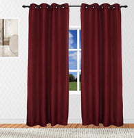 Hudson Solid Textured Top Grommet Panel (Available in 3 different colors)
