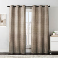 "Manor Printed Thermal Grommet Room Darkening Curtain Panels 76""Wx84""L(Set of 2)"