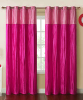 Victoria Classic Home Mondrian Grommet Top Curtain Panel (Single)