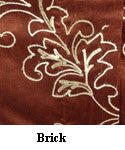 Prestige Faux Silk with Chain Stitch Embroidery Collection (Available in 6 different colors)