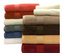 600 GSM Plush 100 Percent Plush Cotton 6 Piece Towel Set, Extremely Soft