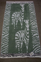 "Egyptian Cotton Velour Jacquard Beach Towel 40"" x 70"" (Available in 7 designs)"