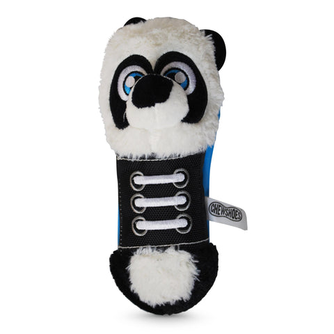 Chew Shoes Panda Large Plush and TPR Dog Toy