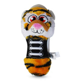 Chew Shoes Tiger Large Plush and TPR Dog Toy