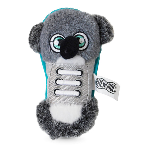 Chew Shoes Koala Small Plush and TPR Dog Toy