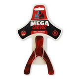 Mega Mutt Mega Chewz Wishbone Small Durable Chew Dog Toy Packaging