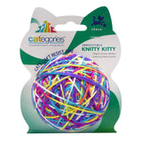 Categories Knitty Kitty Yarn Cat Toy on Packaging