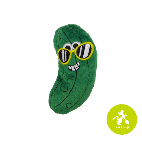 Mad Cat Cool Cucumber Catnip Silvervine Plush Cat Toy