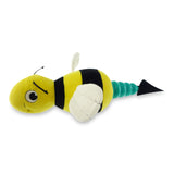 Hush Plush Bumble Bee Large Plush On/Off Squeaker Dog Toy