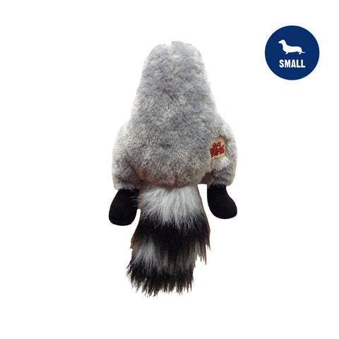 Silly Bums Woodland Animals Small Raccoon Plush Dog Toy