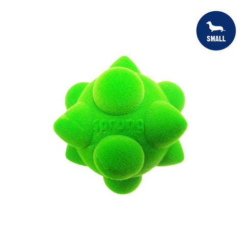 Sprong Cone & Dome Small Lime Green Dog Toy