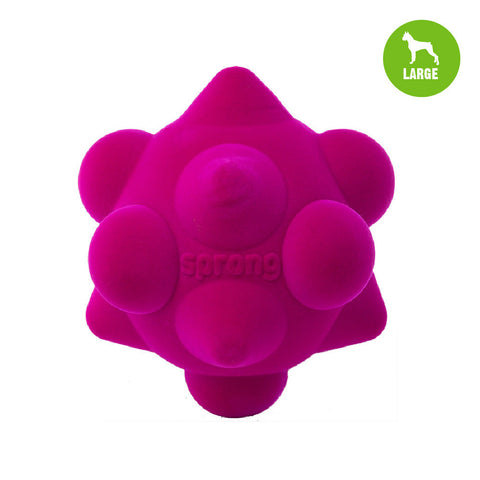 Sprong Cone & Dome Large Pink Dog Toy