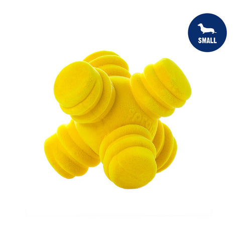 Sprong Jack Small Yellow Dog Toy