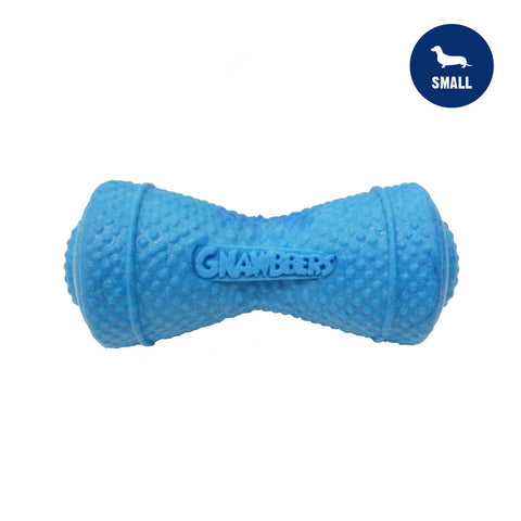 Gnawbbers Ruff Roller Blue Durable Dog Toy