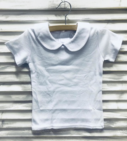 Peter Pan Collar Shirts Boy's and Girls