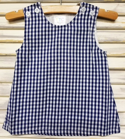 Girl's Gingham Jumper