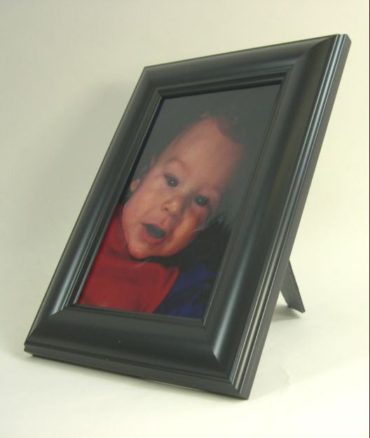 PH7000 4x6 Matte Black Polymer Photo Frame