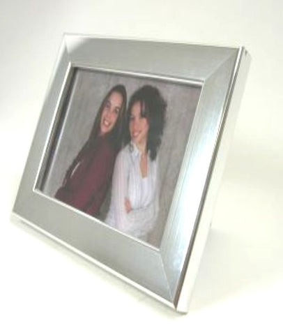 PH7009S Silver Polymer Photo Frame