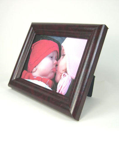 PH2700 5x7 Rosewood Burl MDF Photo Frame