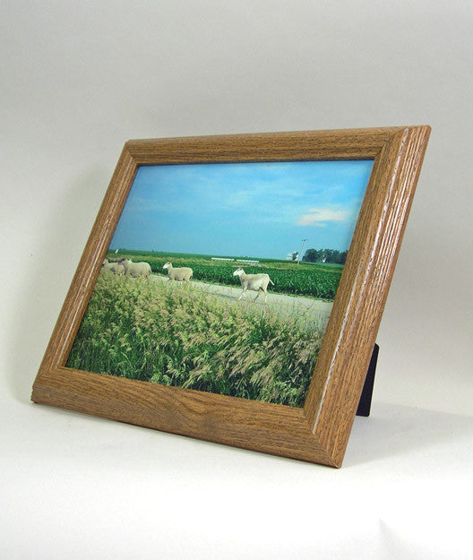 PH6626 Oak Wrapped Polymer Photo Frame