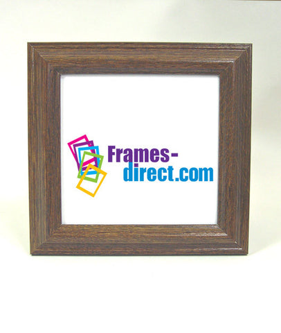 SQ6642 5x5 Square Ebony Oak Polymer Frame