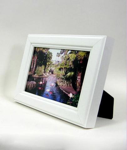 PH1045 4x6 White Wood Photo Frame